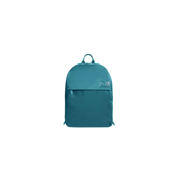 Lipault City Plume Backpack XS in the color Duck Blue.