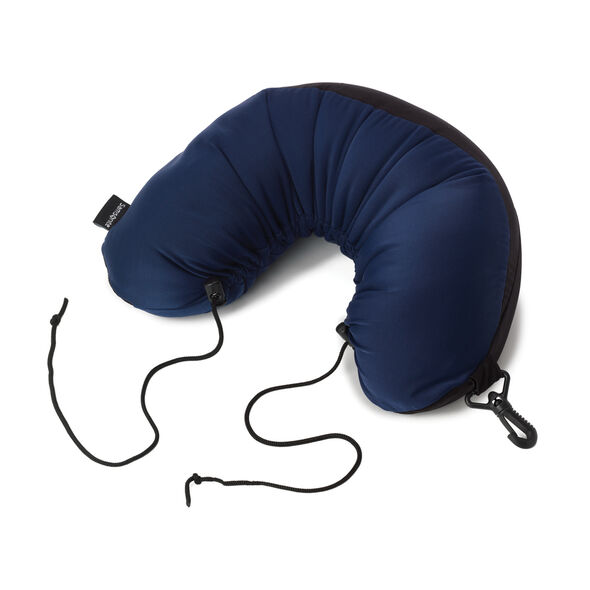 Samsonite CAN Accessories Microbead Neck Pillow in the color Cobalt Blue.