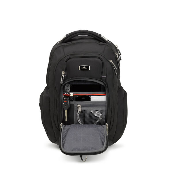 High Sierra Endeavor Elite Backpack in the color Black.