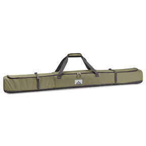 High Sierra Single Ski Bag in the color Moss/Quilted Moss/Raven.