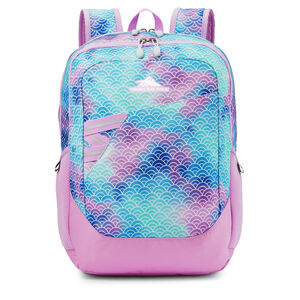 High Sierra Outburst Backpack in the color Rainbow Scales.