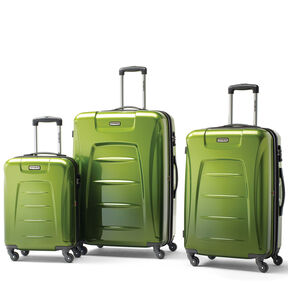 Samsonite Winfield 3 Fashion 3 Piece Set in the color Green Ombre.