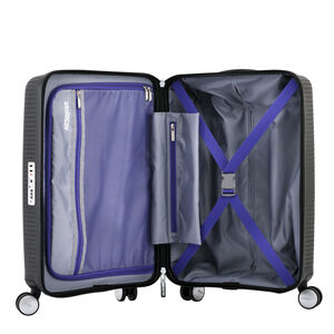 American Tourister Curio Spinner Medium in the color Black.
