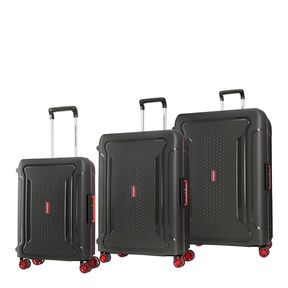 American Tourister Tribus 3 Piece Set in the color Dark Grey.