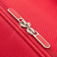 American Tourister Litewing Spinner Medium in the color Formula Red.