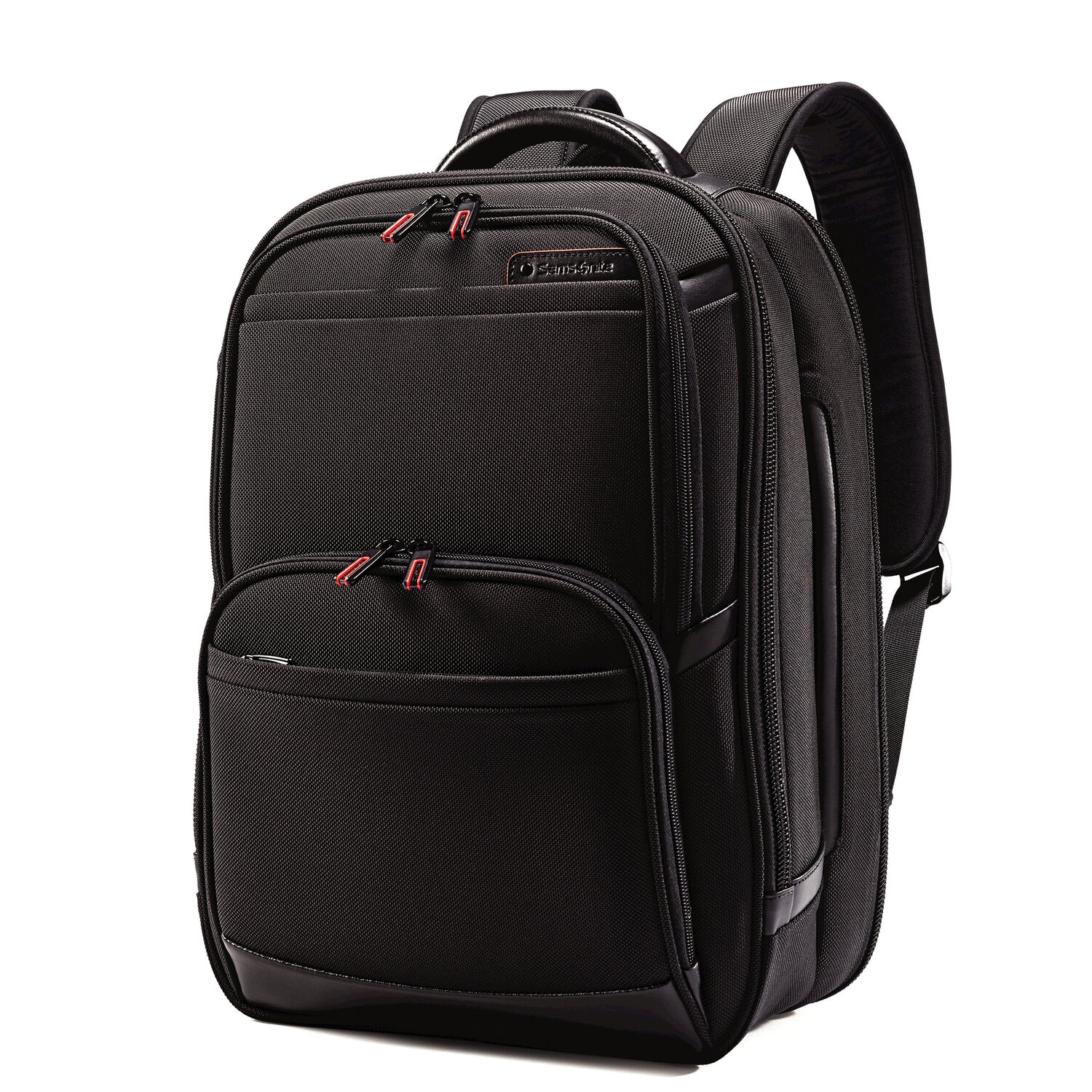 a782a72b3 Samsonite Pro 4 DLX Perfect Fit Urban Laptop Backpack in the color Black.