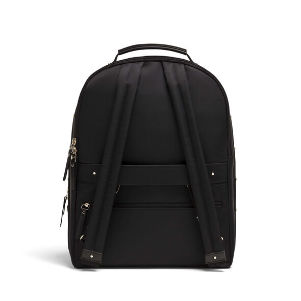Lipault Business Avenue Backpack M in the color Jet Black.