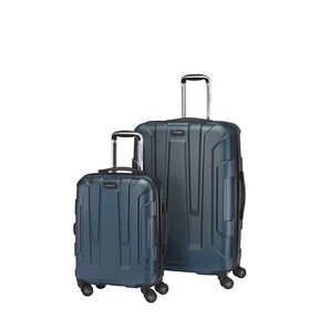 Samsonite Hardside Spinner 2 Piece Set in the color Teal.