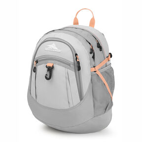 High Sierra Fatboy Backpack in the color Silver/Ash/Sand Pink.