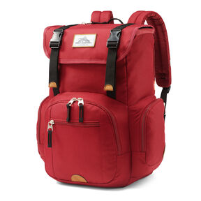 High Sierra Emmett 2 Backpack in the color Chili Pepper/Black.