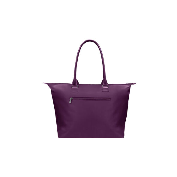 Lipault Lady Plume Shopping Tote L in the color Purple.