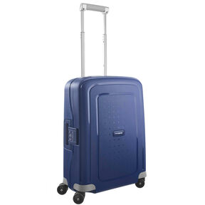 "Samsonite S'Cure 20"" Spinner in the color Dark Blue."