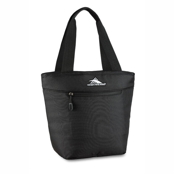 High Sierra Lunch Tote in the color Black.
