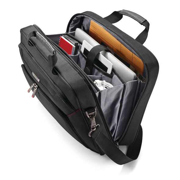 Samsonite Xenon 3.0 Techlocker Briefcase in the color Black.