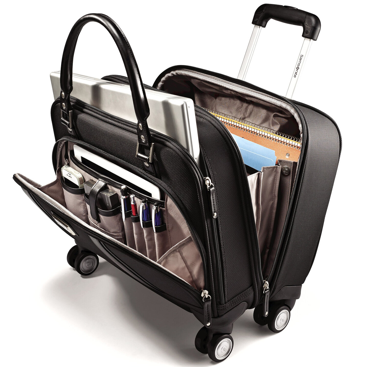 Samsonite Business Women  39 s Spinner Mobile Office in the color ... ac8ffb4f6d