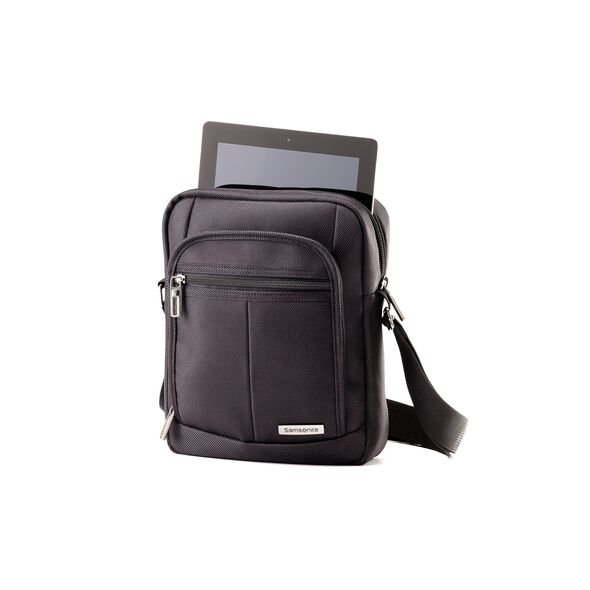 Samsonite Classic 2 Vertical Tablet with RFID in the color Black.