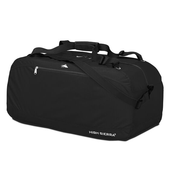 "High Sierra 36"" Pack-N-Go Duffle in the color Black."