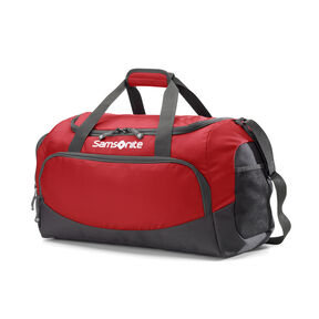 "Samsonite Campus Gear Cooper Duffle 20"" in the color Red."