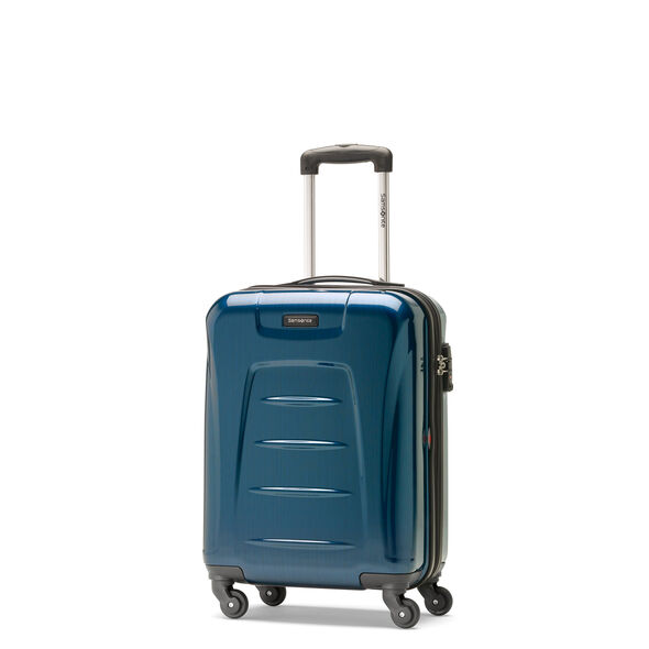 Samsonite Winfield 3 Fashion Spinner Carry-On Widebody in the color Teal (Brushed).
