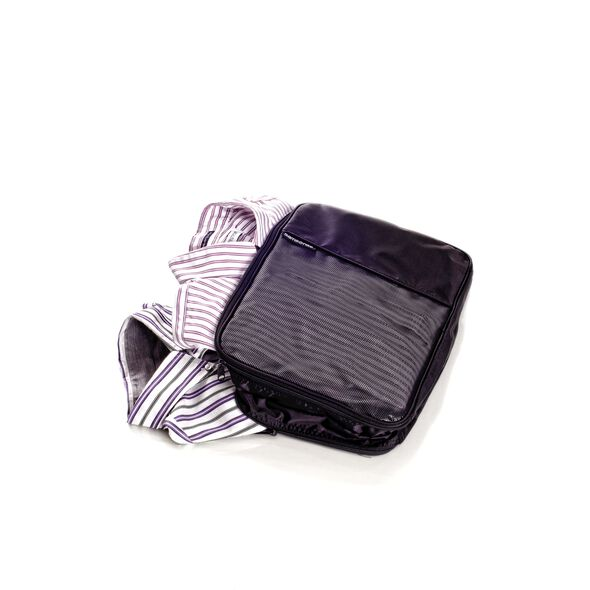 Samsonite Packing Cubes Large 2 Sided Packing Cube in the color Black.