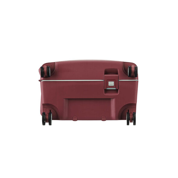 """American Tourister Tribus 25"""" Spinner in the color Red."""