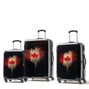 Canadian Tourister Collection 3 Piece Set in the color Celebration.