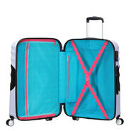 American Tourister Wavebreaker-Disney Spinner Medium in the color Minnie Close Up.