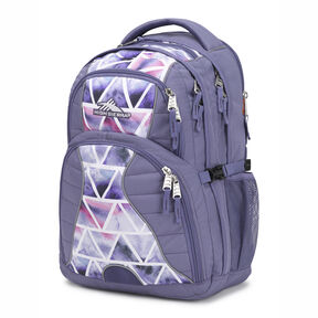 High Sierra Swerve Backpack in the color Dreamscape/Purple Smoke.