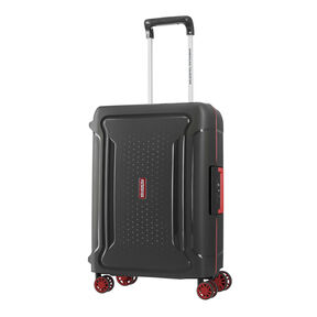 "American Tourister Tribus 20"" Spinner in the color Dark Grey."