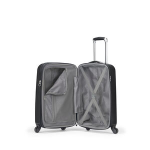 Samsonite Caravelle Spinner Carry-On in the color Black.