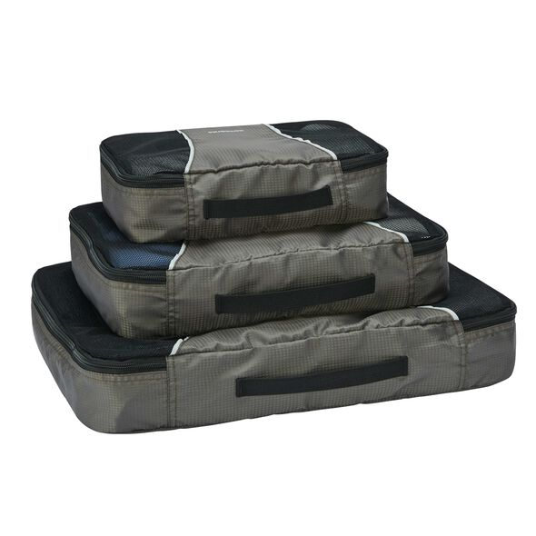 Samsonite 3PC Set in the color Charcoal.