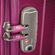 Samsonite On Air 3 Spinner Carry-On in the color Purple.