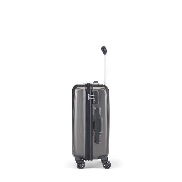 Samsonite Pursuit DLX Plus Spinner Carry-On in the color Charcoal.