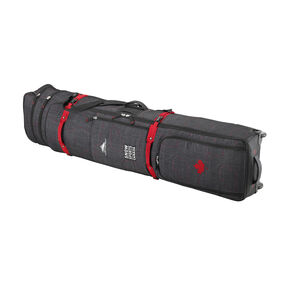 High Sierra Snow Sports Canada Adjustable Wheeled Combo Bag in the color Topical Map.