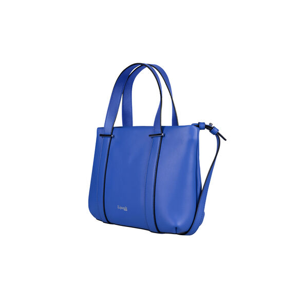 Lipault By The Seine Nano Tote Bag in the color Cobalt Blue.