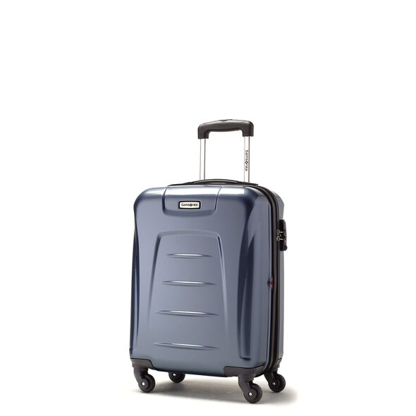 Samsonite Winfield 3 Spinner Carry-On Widebody in the color Blue Slate.