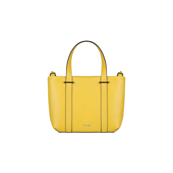 Lipault By The Seine Nano Tote Bag in the color Lemon Yellow.