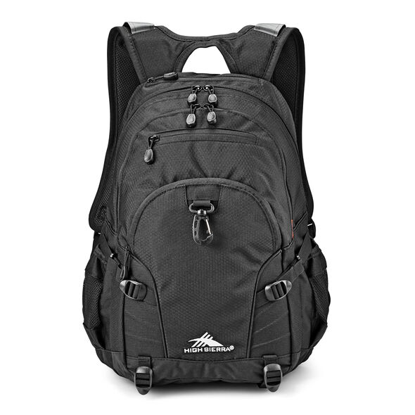 High Sierra Loop Backpack in the color Black.