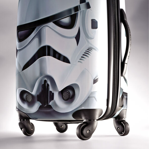 "American Tourister Star Wars 21"" Spinner in the color Storm Trooper."