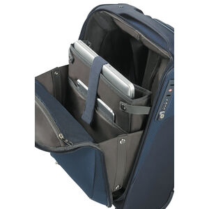 Samsonite B-Lite Icon Upright Underseater in the color Dark Blue.