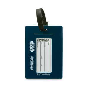 American Tourister Star Wars ID Tag in the color Darth Vader.