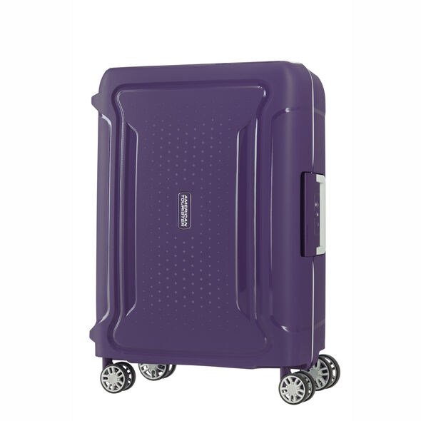 """American Tourister Tribus 20"""" Spinner in the color Purple."""