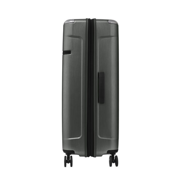 Samsonite Evoa Spinner Large in the color Brushed Black.
