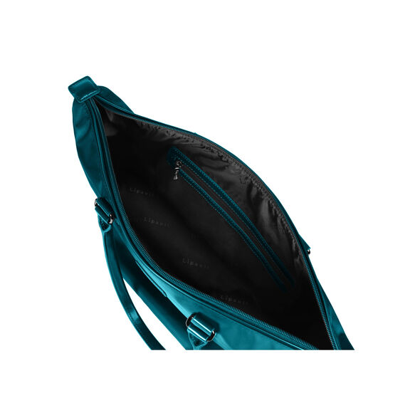 Lipault Lady Plume Tote Bag M in the color Duck Blue.