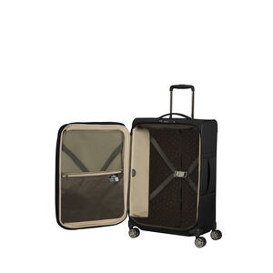Samsonite Airea Spinner 3 Piece Set (CCO, Med, Lrg) in the color Black.