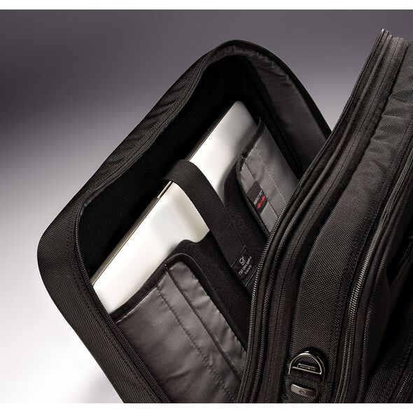 Samsonite Ballistic Business 2 Expandable Toploader PFT in the color Black.