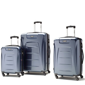 Samsonite Winfield 3 3 Piece Set in the color Blue Slate.