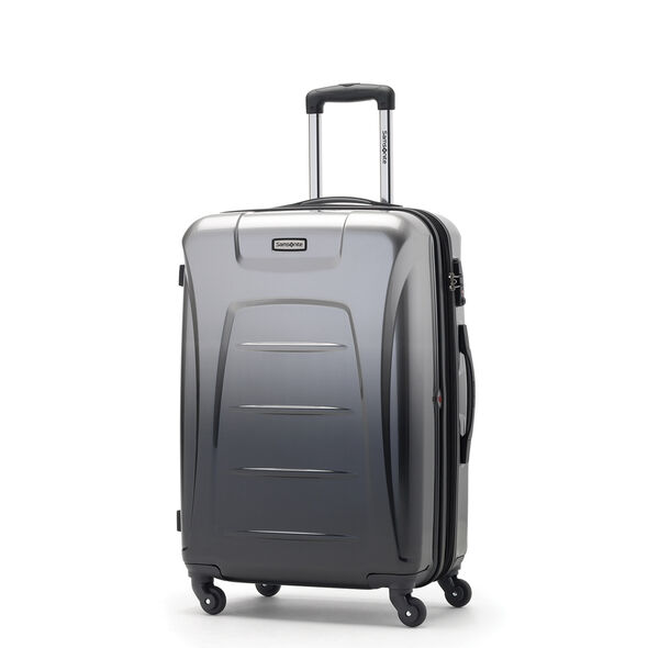 Samsonite Winfield 3 Fashion Spinner Medium in the color Silver/Charcoal (ombre).