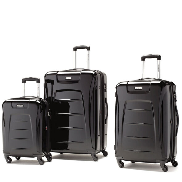Samsonite Winfield 3 3 Piece Set in the color Black.