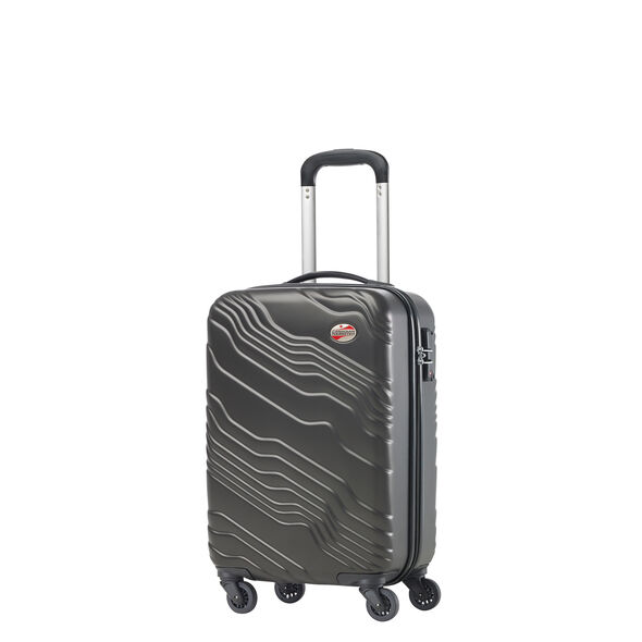 Canadian Shield Spinner Carry-On in the color Lava Grey.